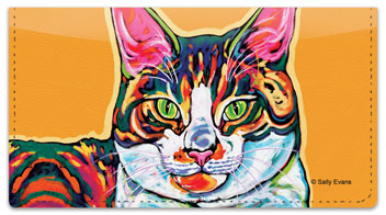 Evans Cat Checkbook Covers
