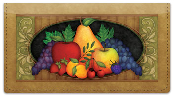 Fruitful Checkbook Cover