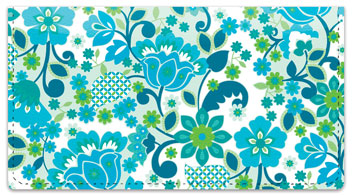 Bloom Checkbook Cover