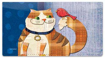 Fat Cat Checkbook Covers