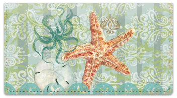 Boho Coastal Checkbook Covers
