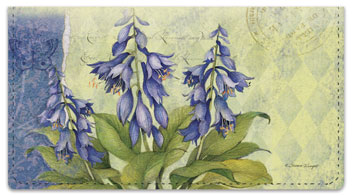 Cottage Garden Checkbook Covers