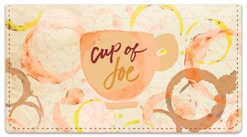 Cup of Joe Checkbook Covers