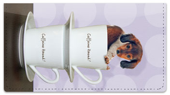 Pups in Cups Checkbook Covers