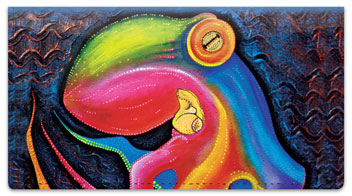 Sea Creature Checkbook Covers