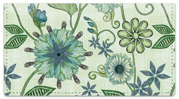 Vintage Nouveau Floral Checkbook Covers