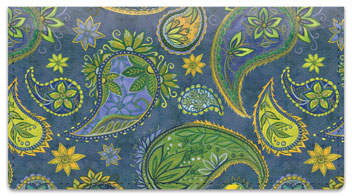 Pallavi Paisley Checkbook Covers