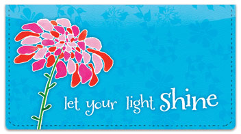 Blooming Gorgeous Checkbook Covers