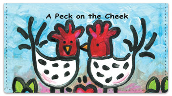 Womack Chicken Checkbook Covers