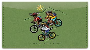 Wild Friends Checkbook Covers