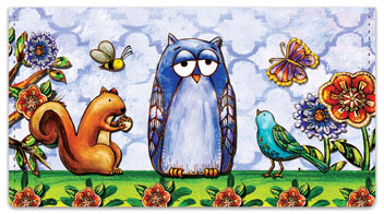Embry Woodland Friend Checkbook Covers