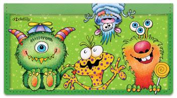 Monster Checkbook Covers