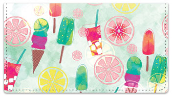 Popsicle Delight Checkbook Covers