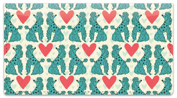Primped Poodles Checkbook Covers