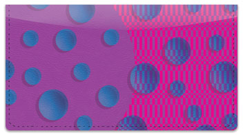 KAB Designs Bubble Checkbook Covers
