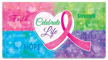 Celebrate Life Checkbook Covers