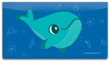 Chelsey Whale Checkbook Covers