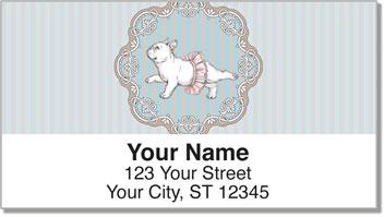 English Bulldog Address Labels