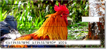 Rooster & Hen Personal Checks