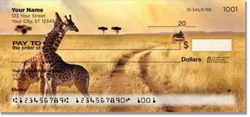 Safari Animal Personal Checks