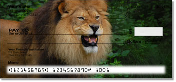 Lion Personal Checks