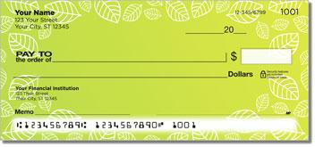 Yellow Leaf Border Checks