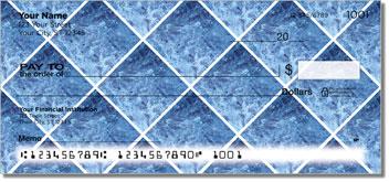 Blue Marble Tile Checks