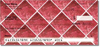 Red Marble Tile Checks