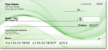 Green Wave Personal Checks