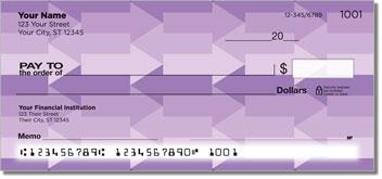 Purple Arrow Personal Checks