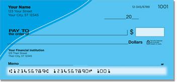 Blue Curve Personal Checks
