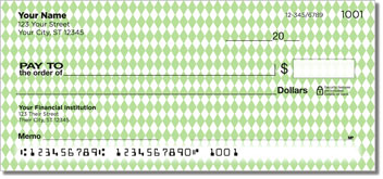 Green Diamond Personal Checks