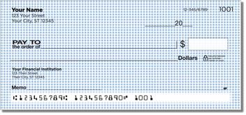Blue Dot Personal Checks