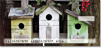 Rustic Birdhouse Checks