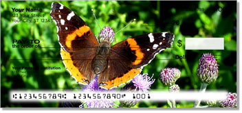 Butterfly & Moth Personal Checks