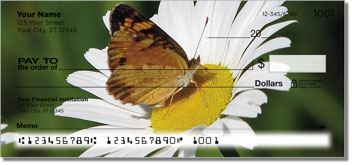 Butterfly Garden Personal Checks