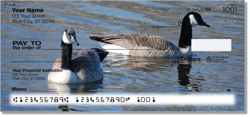 Canada Geese Personal Checks