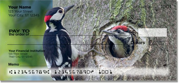 Woodpecker Personal Checks