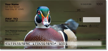 Wood Duck Personal Checks