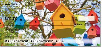Wooden Birdhouse Checks