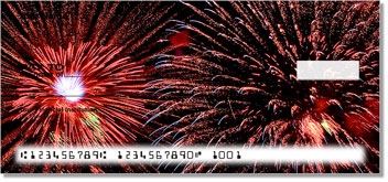 4th of July Fireworks Personal Checks
