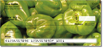 Photogenic Pepper Personal Checks