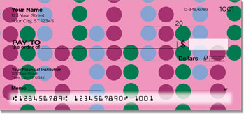Retro Dot Personal Checks