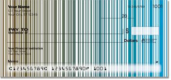 Vertical Stripe Personal Checks