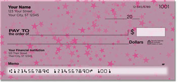 Cascading Star Personal Checks
