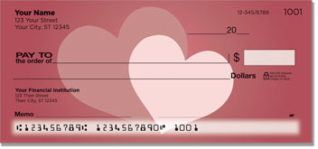 Two Hearts Personal Checks