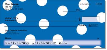 Polka Dot Personal Checks