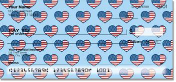 Patriotic Heart Checks
