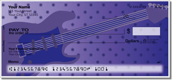 Guitar Personal Checks
