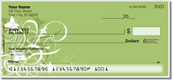 Floral Explosion Personal Checks